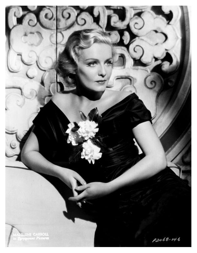 Мэдлин Кэрролл — первая блондинка Хичкока