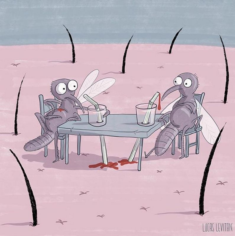 «Жизнь насекомых» от Лукаса Левитана