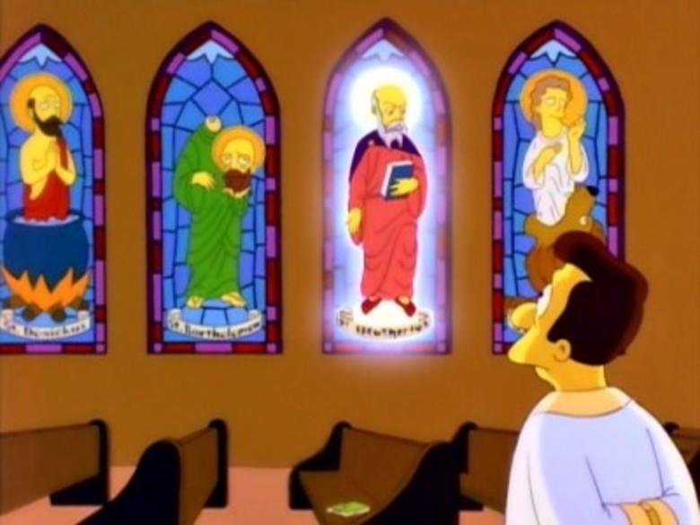 РПЦ против Симпсонов