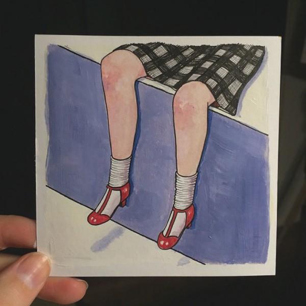 Женский быт в рисунках Салли Никсон