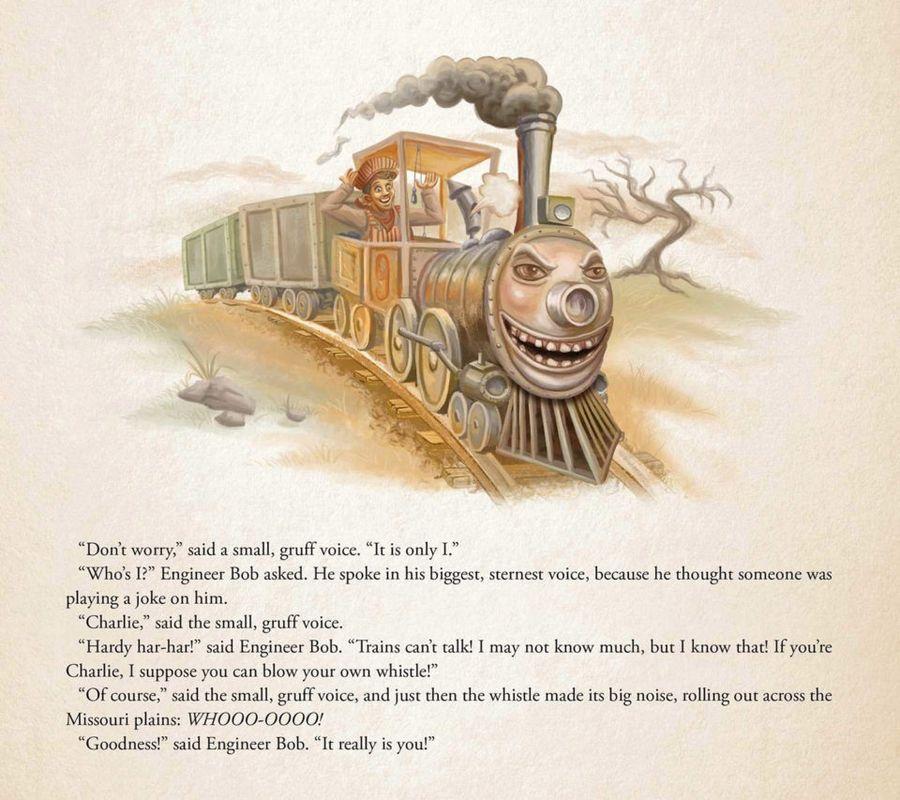 Детская книга Стивена Кинга «Чарли Чу-Чу»