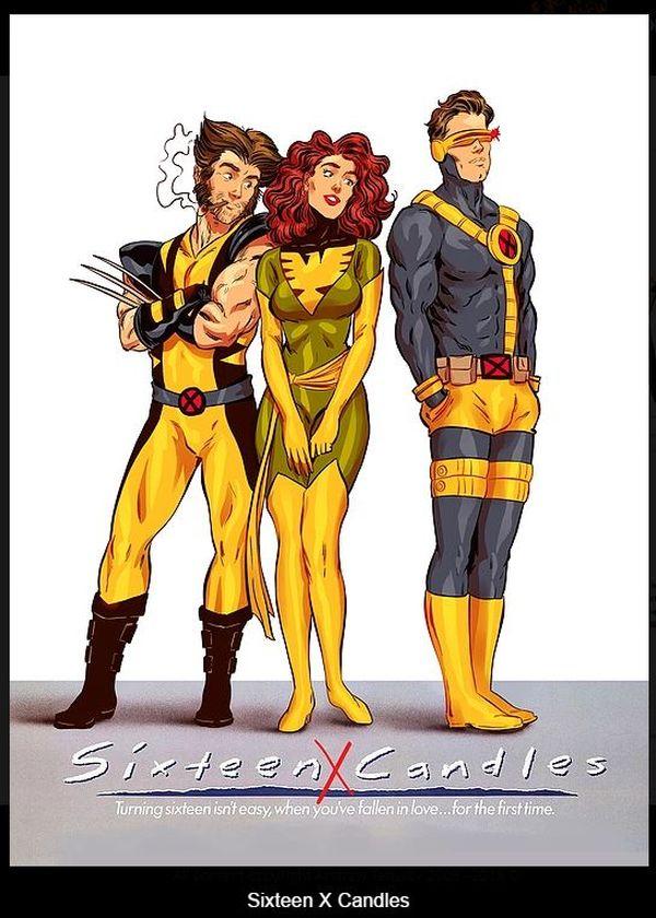 Супергерои в романтическом кино 80-х и 90-х