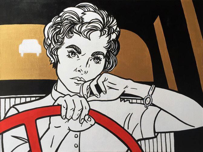 Главные героини за рулём автомобиля