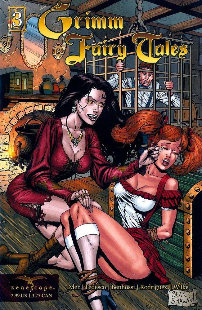 Комикс Grimm Fairy Tales, выпуск #3: «Гензель и Греттель»