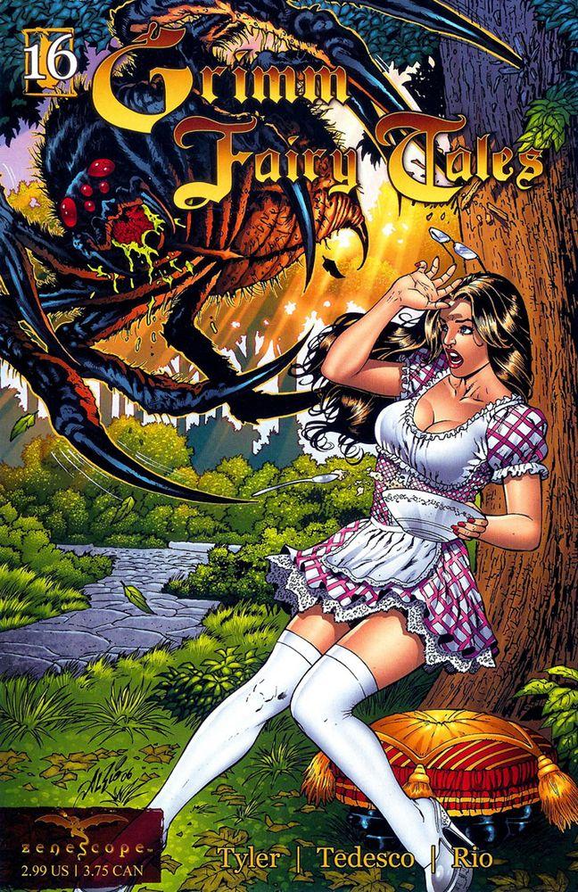 Grimm Fairy Tales, выпуск #16: Маленькая мисс Маффет