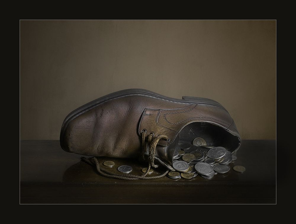 Денежный ботинок