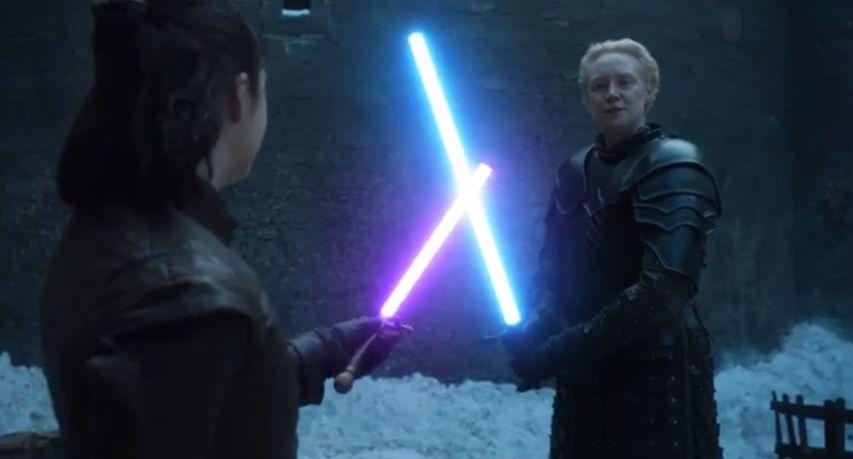Световые мечи в Игре престолов