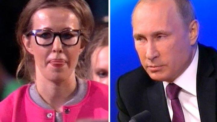 Ксюша Собчак против Путина на выборах? смешно, правда