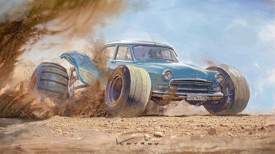 Советские авто - суперкары!