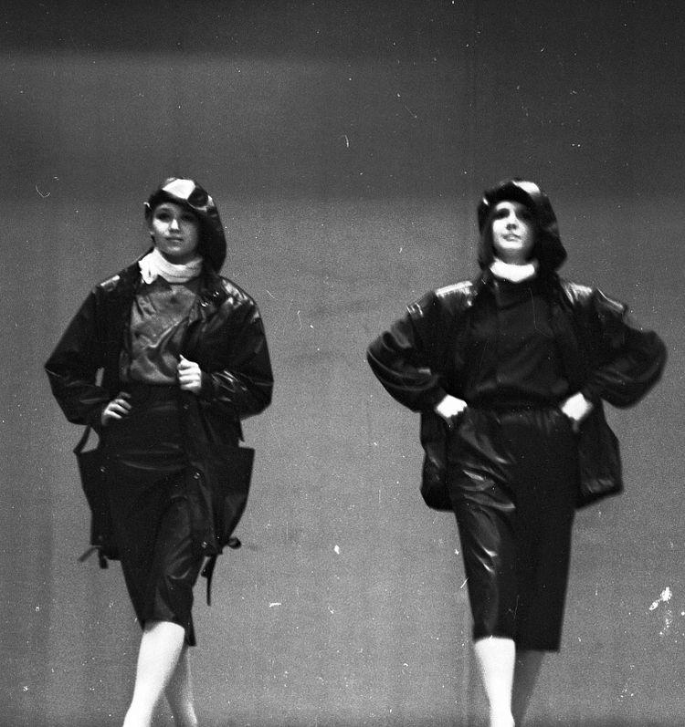 Показ мод на «КАМАЗе» в 1986 году