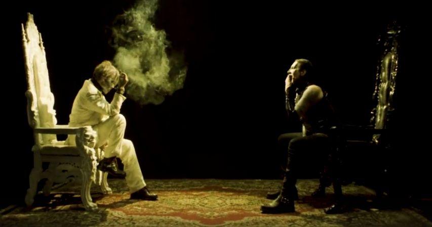 Джонни Депп в новом клипе Мерлина Мэнсона