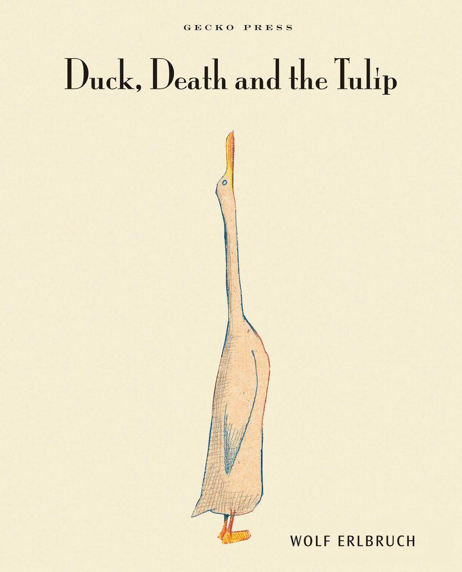 «Утка, Смерть и тюльпан» — детская книжка Вольфа Эрлбруха