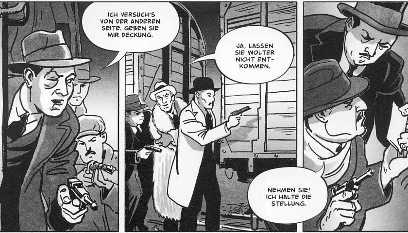 Комикс «Мокрая рыба (Вавилон — Берлин)»