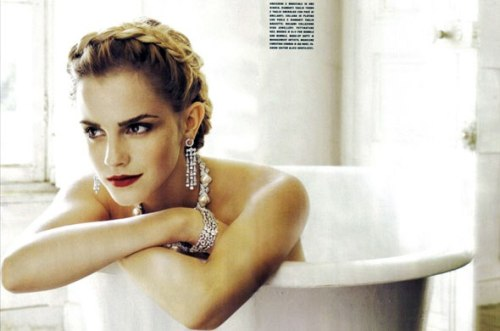 Арт-ванна: не Гермиона, но Эмма!