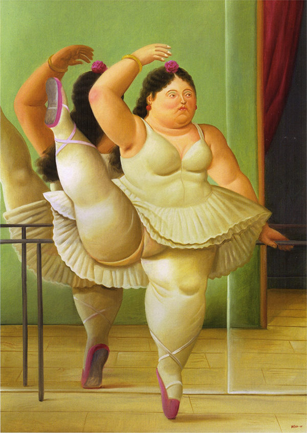 Фернандо Ботеро — художник необъятного женского тела
