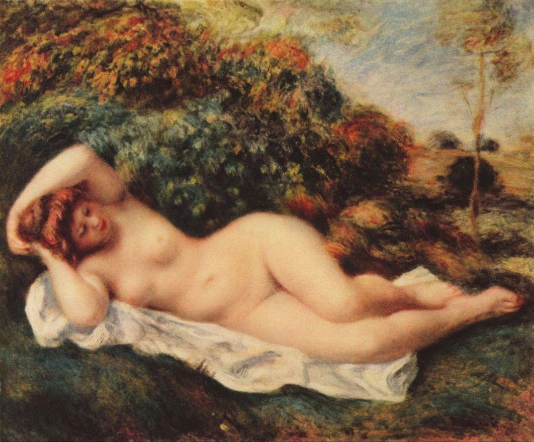 Ню в живописи: Пьер Огюст Ренуар