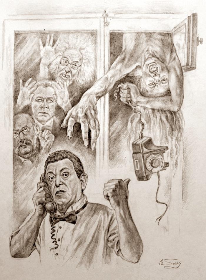 Мастер и Маргарита, современное прочтение художником Александром Ботвиновым (часть седьмая)