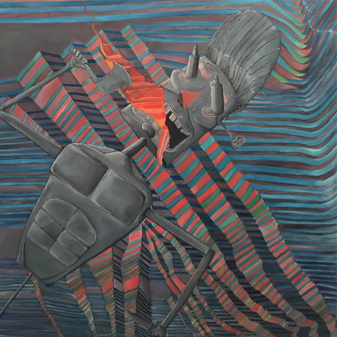 Дамон Холэдэй рисует безумно, но забавно и увлекательно