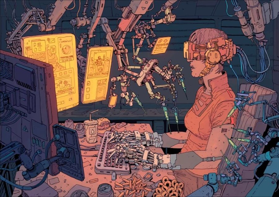 postmodernism and cyberpunk essay Cyberpunk is not an easy group of writing to define on paper,  naval authors' contributions to science fiction and postmodernism essay - the influence.