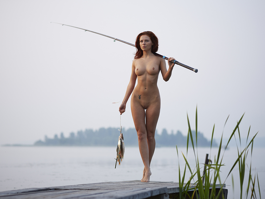 Naked girls fishing calendar mobile optimised photo for android iphone