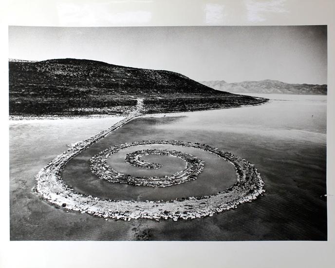 Robert Smithson, Spiral Jetty, 1970