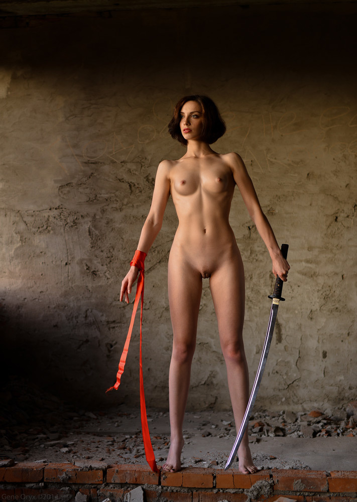 Warrior Nude Girl