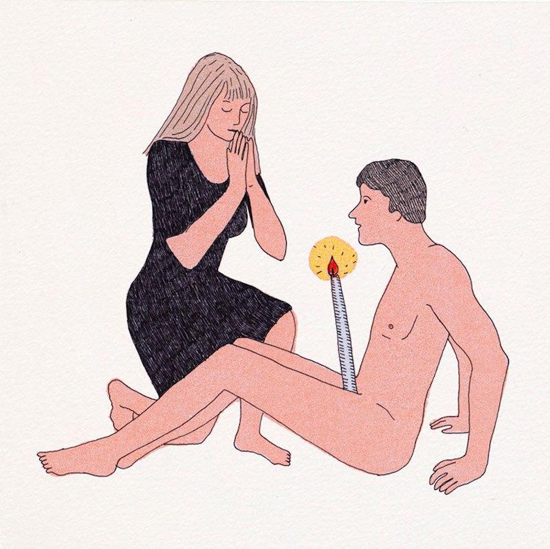 Эротическое бодифэнтези от Марион Файоль (Marion Fayolle)