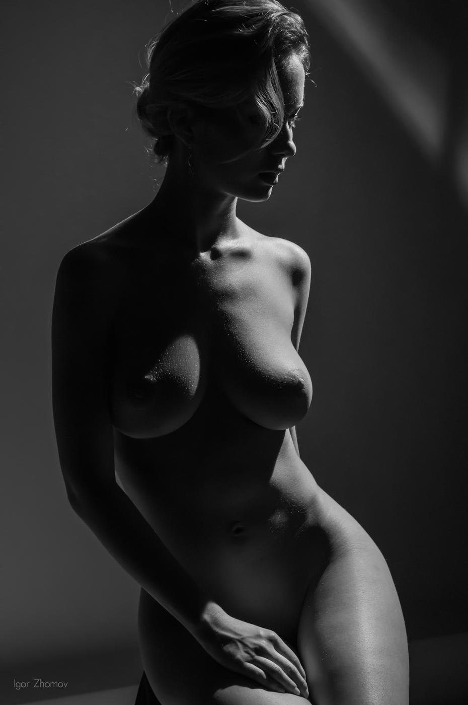 Черное Фото Обнаженной