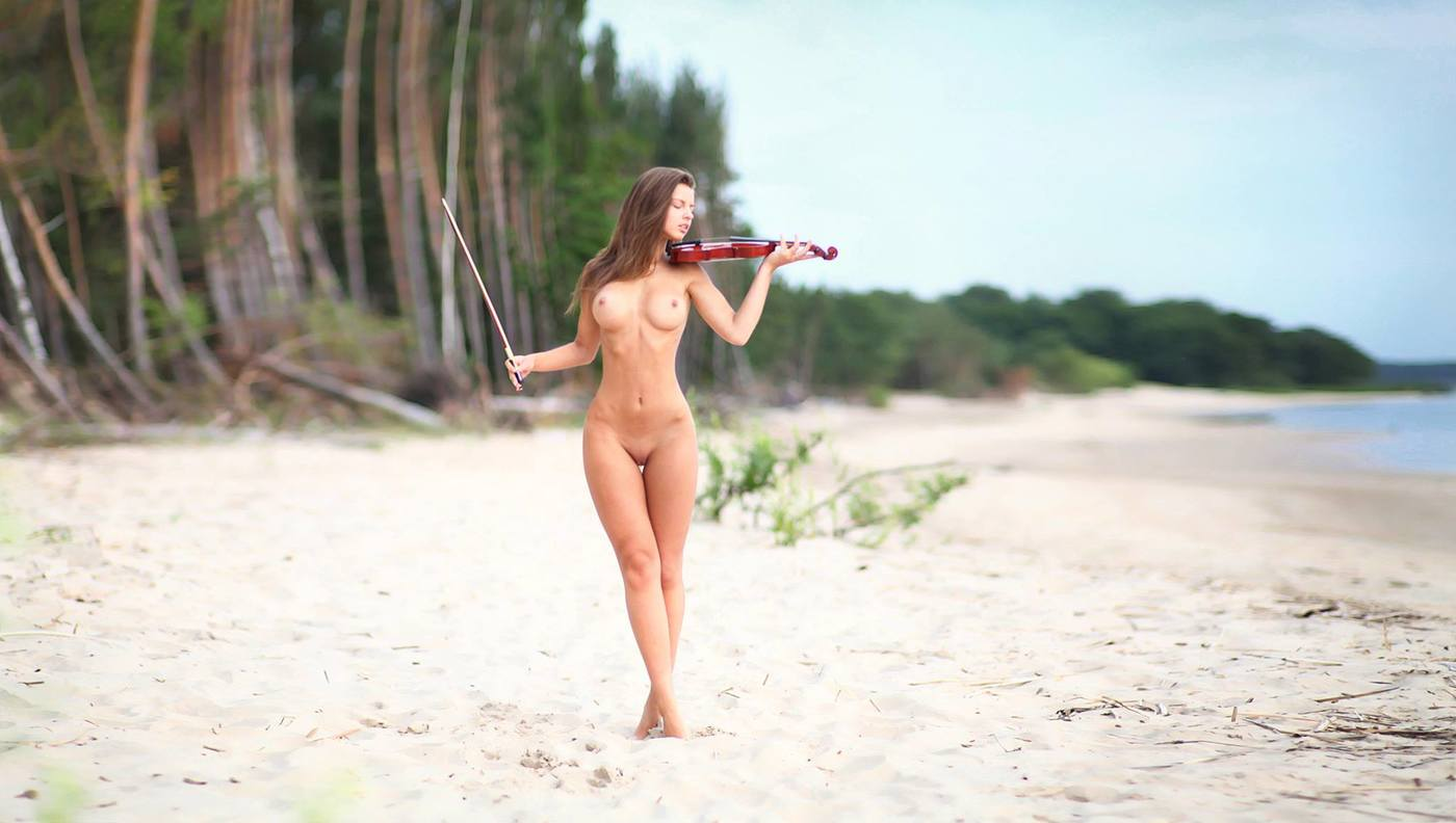 Naked girls with clip clip