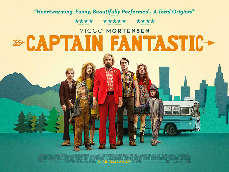 """""""Капитан Фантастик"""" (2016)"""