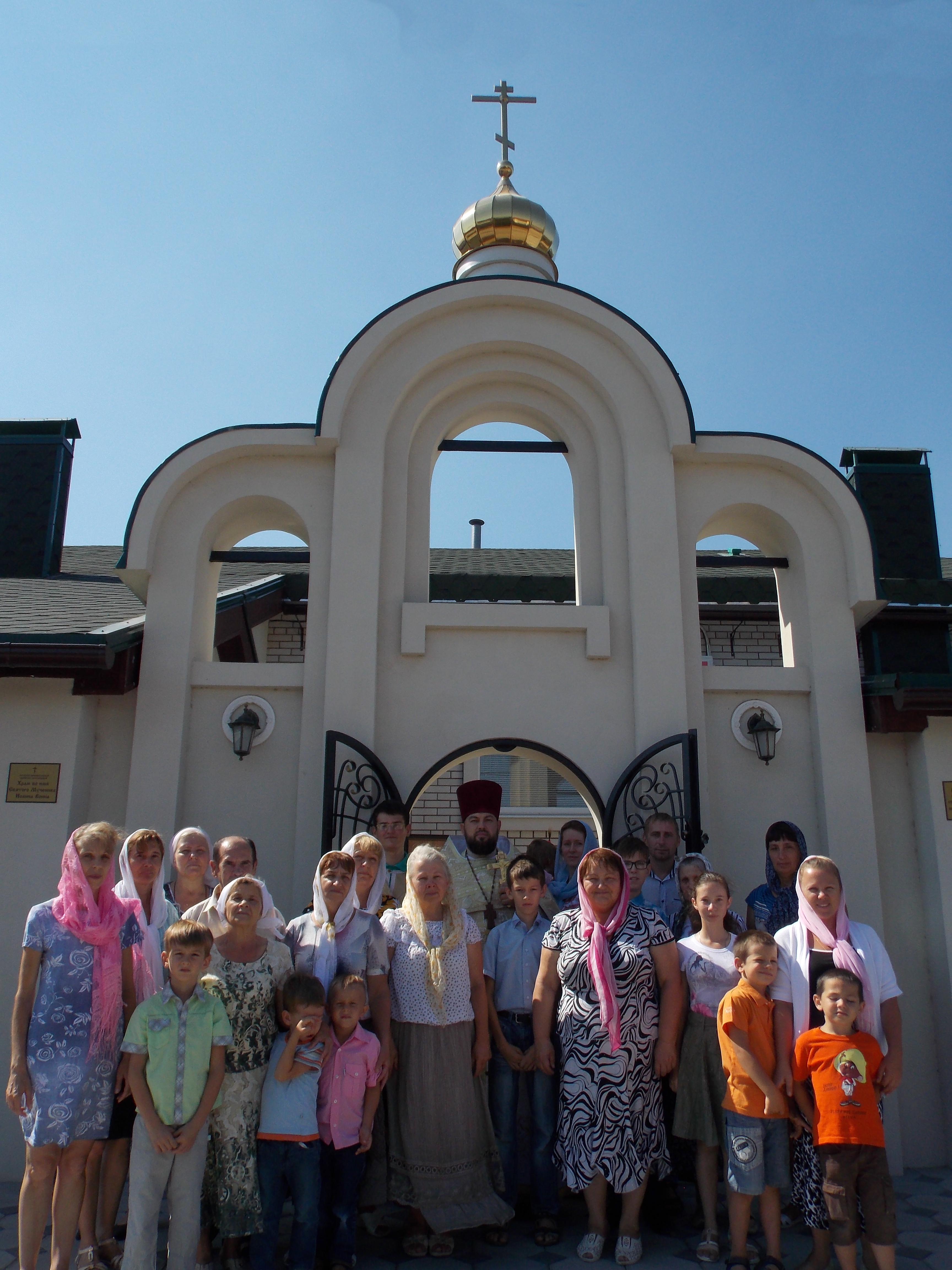 РПЦЗ: Престольный День в храме Св. Муч. Иоанна Воина