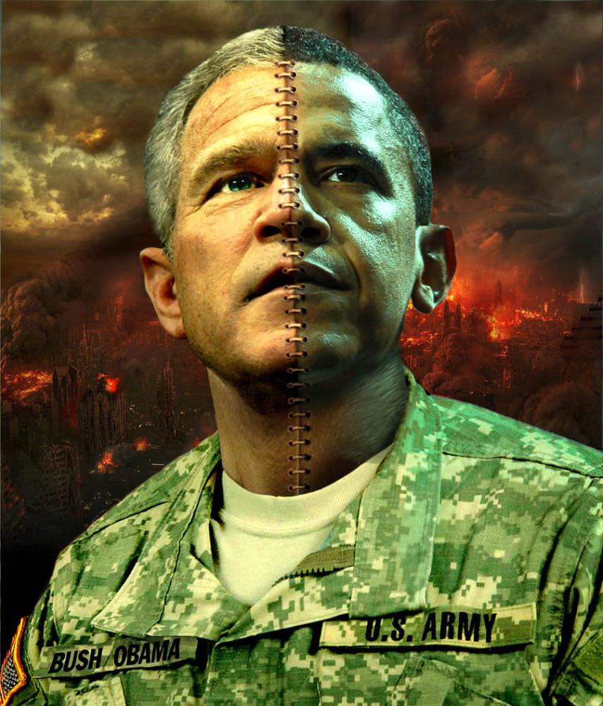 Bush_Obama_by_funkwood