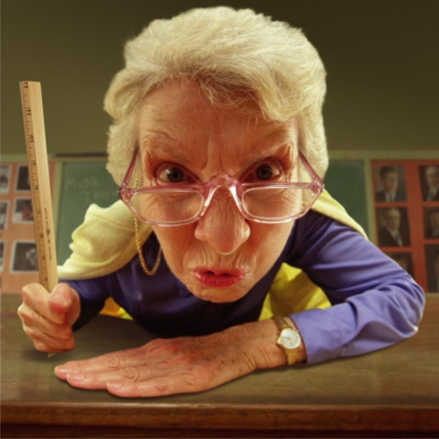 картинки злой учитель