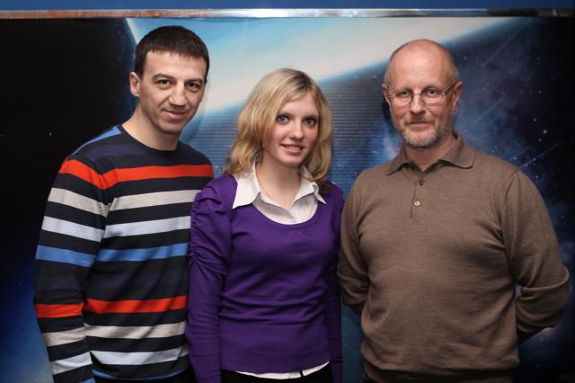 Александр Колесников, Вика Роговая, Дмитрий Пучков Гоблин