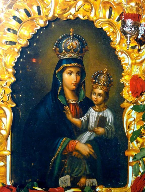Нерукотворная икона Божией Матери Киево-Барская, именуемая «Избавительница»