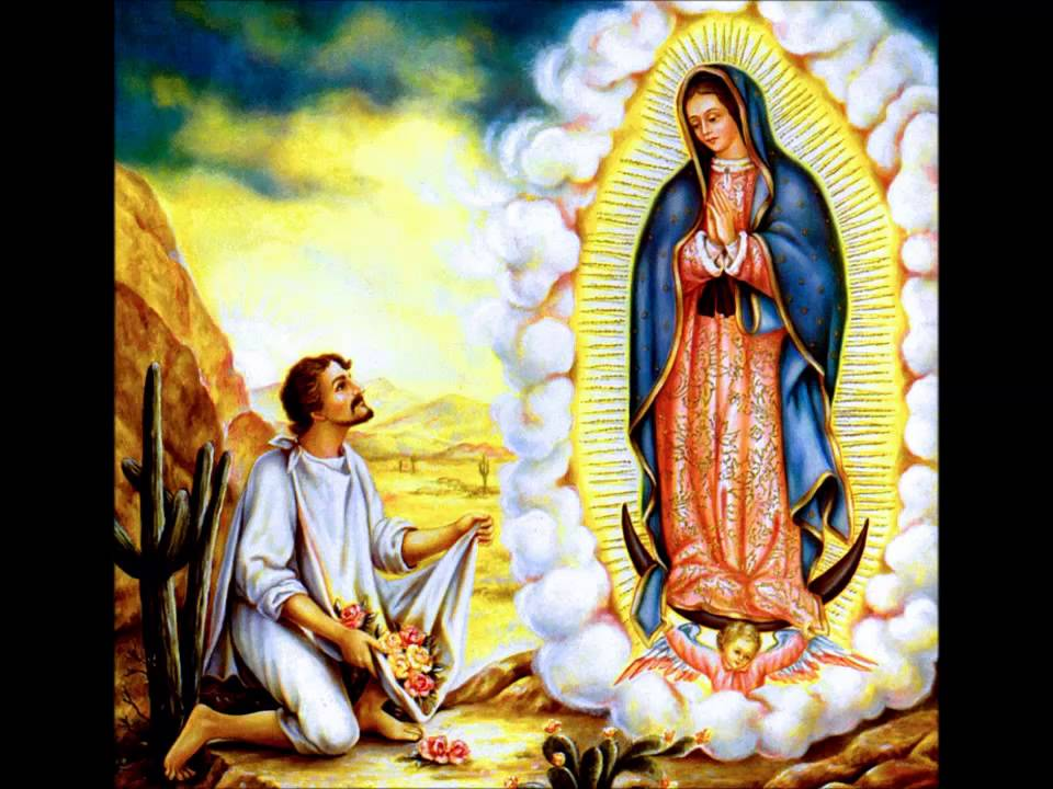 virgin marys appearance to saint juan diego Mexico's image of guadalupe is a sixteenth-century depiction of the virgin mary 'miraculous' image of guadalupe of mary's appearance to juan diego may.