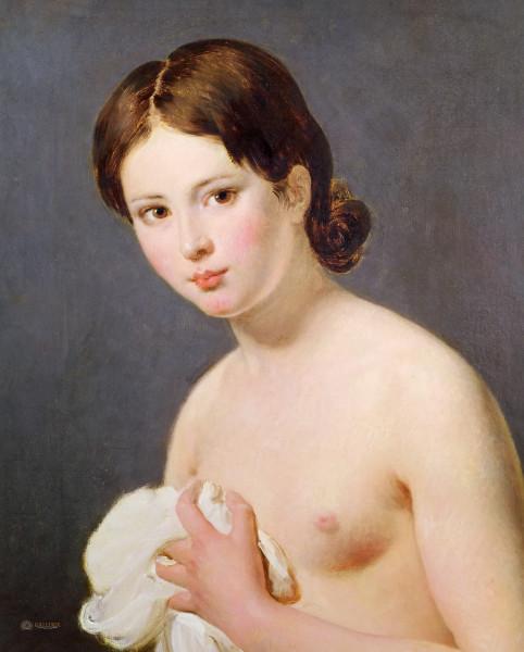 Давид - Портрет девушки