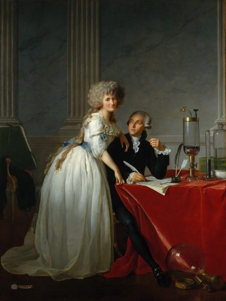 Давид - Лавуазье с женой