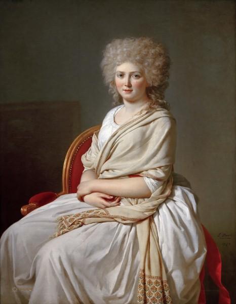 Давид - Анна-Мария-Луиза Теллюсон контесса де Сорси