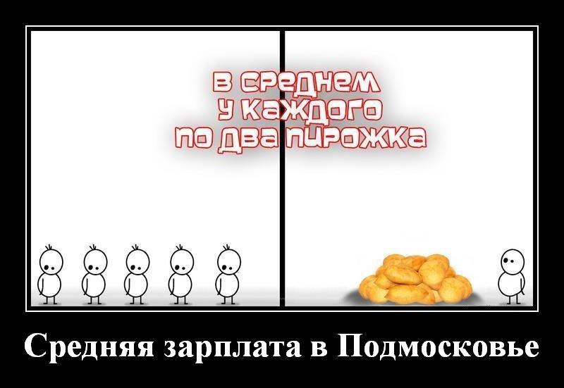 Среднемесячная заработная плата по полному кругу организаций по московской области
