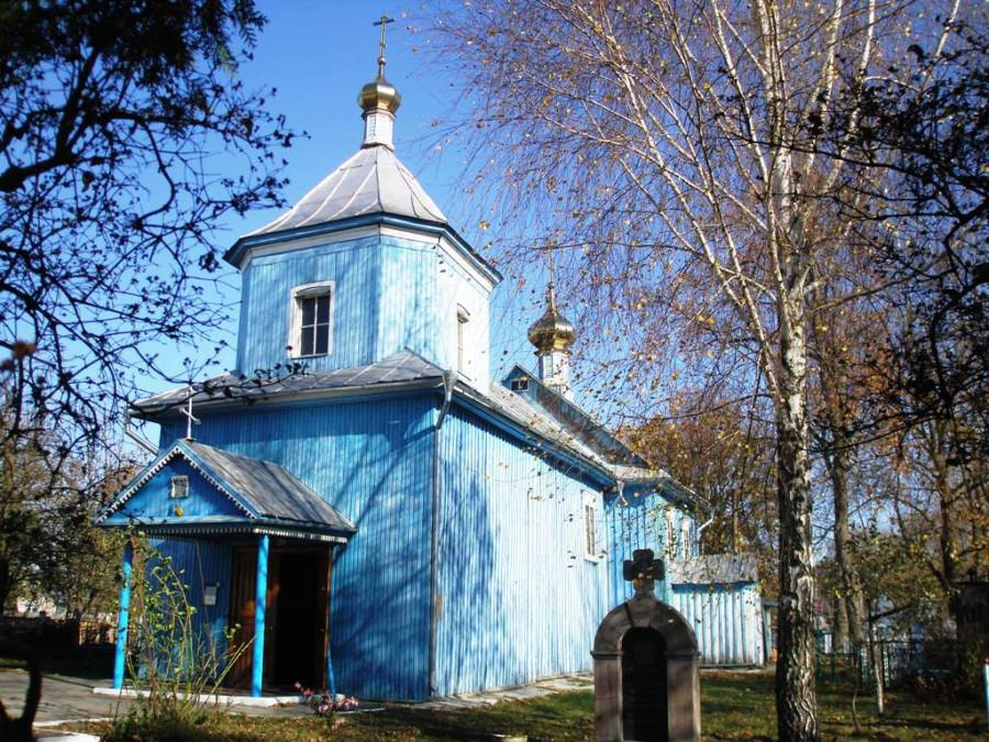 Храм в честь Всех Святых 1801 г, в Турове