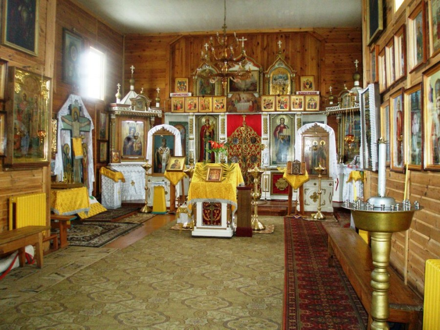 Внутреннее убранство Храма Всех Святых г. Туров