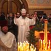 Архиепископ Наро-Фоминский Юстиниан. Свято-Николаевский собор. Рождество в Нью-Йорке