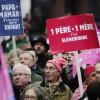 Франция митингует против однополых браков 13.01.13