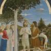 Крещение Господне. Пьеро делла Франческа. Около 1450г. Национальная галерея. Лондон, Великобритания