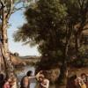Крещение Господне. Камиль Коро. 1847 г. Церковь св.Николая в Шардонне, Париж, Франция