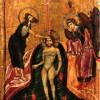 Крещение Господне. Икона. Начало XIII в. Монастырь св.Екатерины, Синай