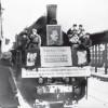 Первый поезд в г.Ленинград с «Большой земли». 7 февраля 1943 г.