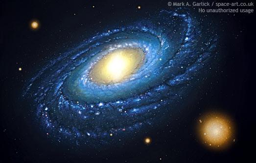 Где находится мы в нашей галактике