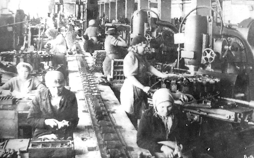 Цех изготовления винтовочных ствольных коробок Ижевского машиностроительного завода